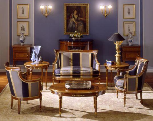 Arredamenti violi arredamenti di lusso mobili in stile for Arredamento stile impero